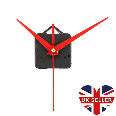 Wholesale Job Lot of 10 x Red Triangle hands DIY Clock Mechanisms Movements UK