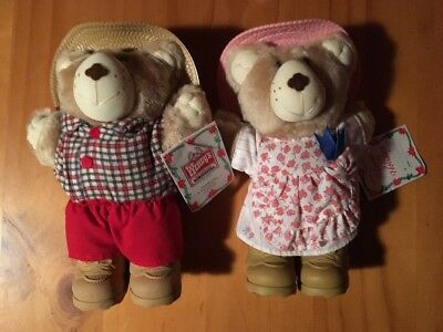 Boone Furskin And Hattie Furskin Bears From Wendys 1986