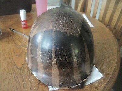 selling ww2 m1 helmet liner with chin strap made by mine saftey