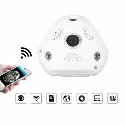 360 Degree Panoramic WiFi IP Camera 3MP Video Wifi Camera for Home Security PO