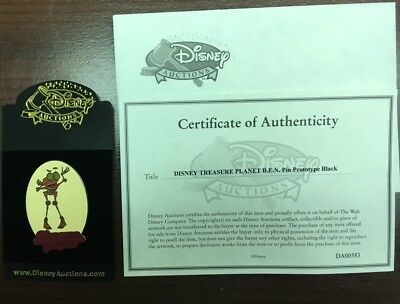 Treasure Planet Disney Auctions - B.E.N. Black Prototype With COA NIP Pin 46324