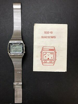 Nelsonic Space Attacker Game Watch Works New Battery 1981 Original