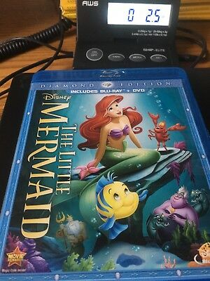 The Little Mermaid (Blu-ray, 2013, Diamond Edition)