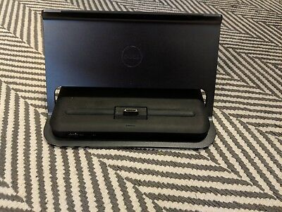 Genuine Dell Venue 11 pro Docking Station Tablet Dock W/ power adapter & cable