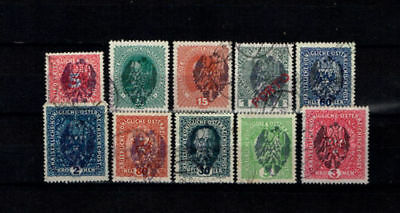 Poland 1918 local stamps Mielec typ IV Austrian postage stamps