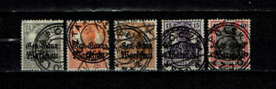 Poland 1918 local stamps Konin typ I used