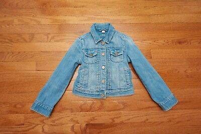 GAP Kids 1969 Girls Denim Jean Jacket Size S