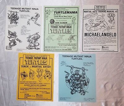 How To Draw Teenage Mutant Ninja Turtles Training Manual Miniature Promo Poster