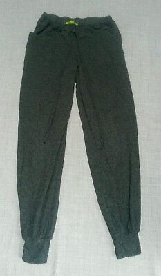 Mothercare Maternity Grey Jogging Bottoms Size 8 Thin Light Summer Trousers