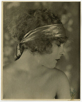 Silent Film Beauty Allene Ray Vintage 1920s Hand Signed Russell Ball Photograph