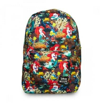 Disney x Loungefly Ariel The Little Mermaid Backpack NEW!