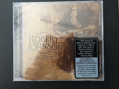 Robert Johnson The Complete Recordings - The Centennial Collection Cd New Sealed