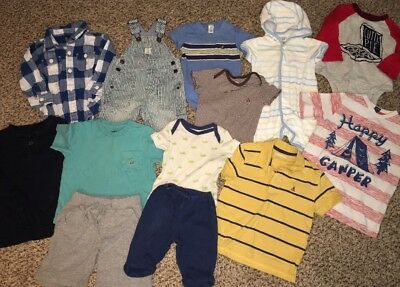 Baby Gap Kids Boy Lot 0/3/6/12/18/24 Months 2/4/5 Clothes Tops Pants Outfits