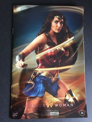 WONDER WOMAN #26 SDCC 2017 Silver Foil Convention Exclusive Photo Variant DC