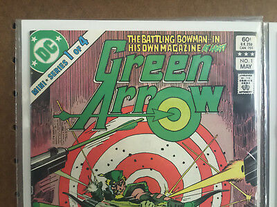 Green Arrow 1 2 3 4 Complete Series DC Comics 1983 Barr