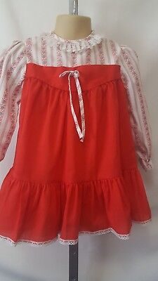 "Vtg Toddler Girl Usa Made ""toddle Time"" Jcpenney Everyday Dress Size 4T Spring"