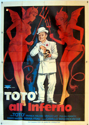 TOTO' ALL'INFERNO - film in 35mm