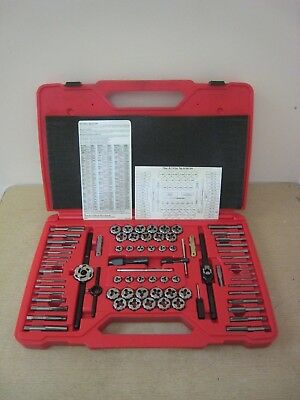 Snap-on Tools TDTDM500A 76 Piece Tap and Die Set Mint Complete Free Shipping