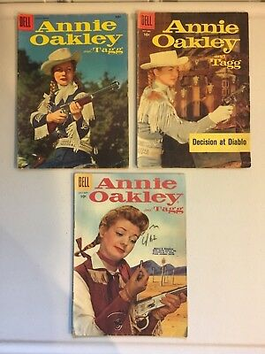 Annie Oakley and Tagg Dell Comics #6, #8 and #17