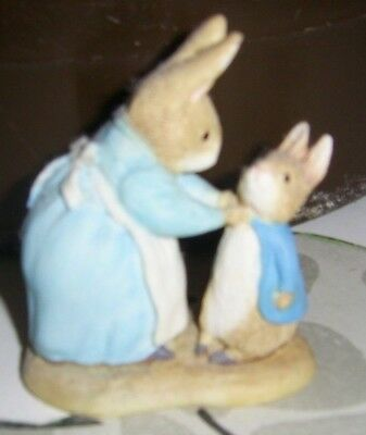 The World of Beatrix Potter Mrs Rabbit and Peter