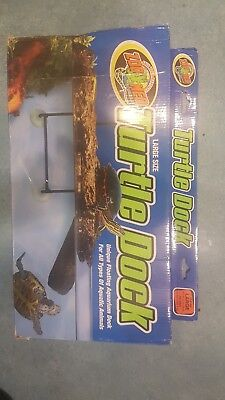 """ZOO MED FLOATING TURTLE DOCK LARGE & SUCKERS for TERRAPINS 9"""" x 18"""""""