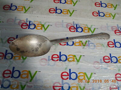 Chased Romantique By Alvin 1933 Sterling Silver Serving Spoon