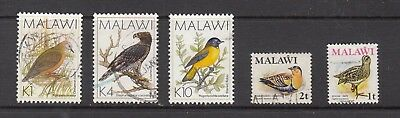 MALAWI BIRD STAMPS USED   .Rfno.A342.