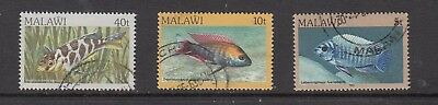 MALAWI FISH  STAMPS USED   .Rfno.A343.