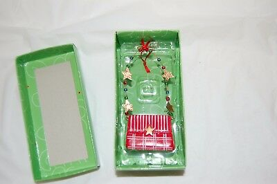 DEPT.56 LOLLYSTICKS Red Purse Ornament 56.07685 By Kym Bowels Used Nice