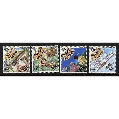 Solomon Is 1986 Operation Raleigh  MNH