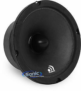 "Massive Audio M6 300 Watt 6-1/2"" M Series Mid-Range Car Speaker Driver Open Box"