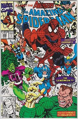 Amazing Spider-Man #348 (1963 Series) NM-