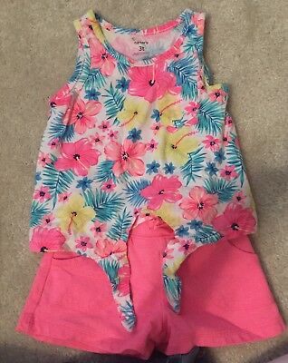 Carters 3T Girls Summer Outfits (2)
