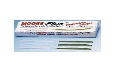 Moore's Flex Finishing Strips  Coarse Medium 100 Dual-grit Aluminum Oxide Strips