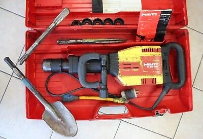 Hilti TE 905-AVR Heavy Duty Demolition Drill Jack Hammer Breaker w/ Case, Bits