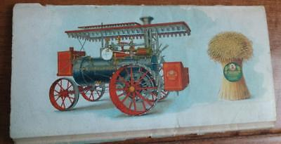 RARE Early 1900's HUBER STEAM TRACTOR Brochure Huber Mfg Co Marion Ohio