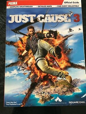 Just Cause 3 Official Game Guide Book