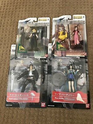 FINAL FANTASY VII & VIII Figures Extra Soldier Knights Cloud Squall Aerith Rinoa