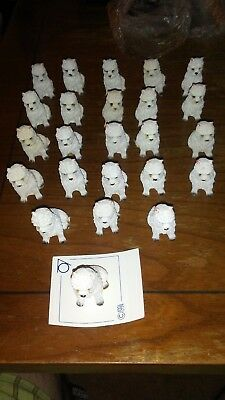 American Seven Ring Co. 1 1/2'' Polyresin figurine West Highland Terrier lot