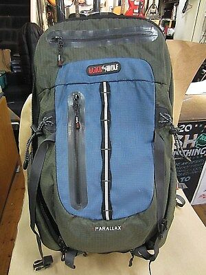 Black Wolf Parallax Backpack – Good Used Condition