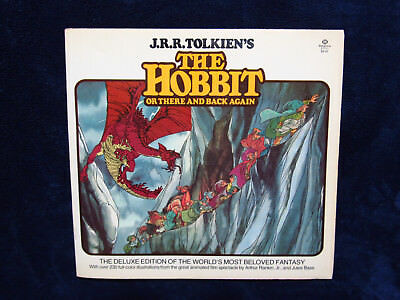 The Hobbit Or There and Back Again 1978 Illustrated color book Rankin Bass