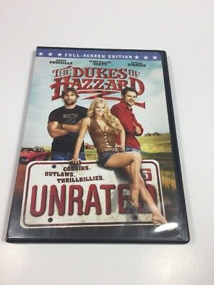 The Dukes of Hazzard (Unrated Full Screen Edition) DVD Movie Pre-Owned