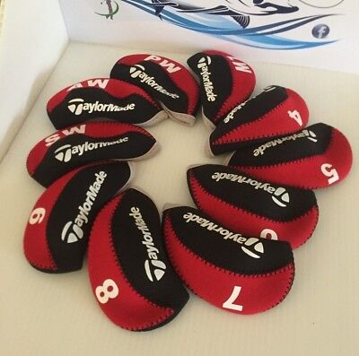 Taylormade Iron Covers Red M1 M2 M3 M4