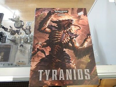 Games Workshop Warhammer 40,000 codex TYRANIDS