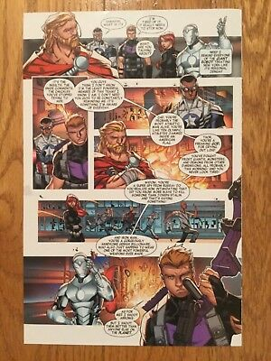 Carlo Barberi Original Art - Avengers No More Bullying - Issue 1, Page 3