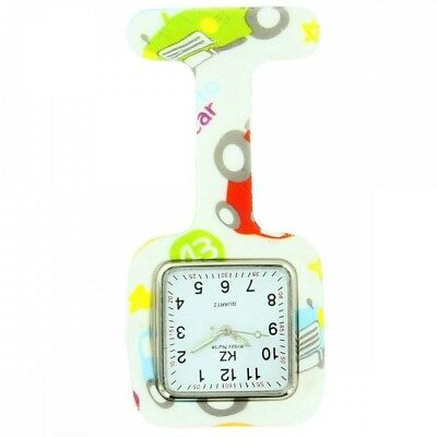 Montre Infirmière Silicone Voitures KRAZY 183