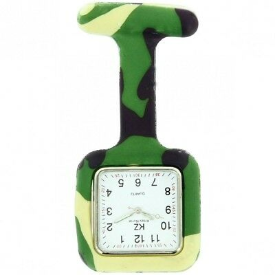 Montre Infirmière Silicone Camouflage KRAZY 184