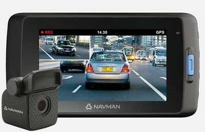 Navman Mivue 850 front and rear Dashcam  Full HD Video Recording