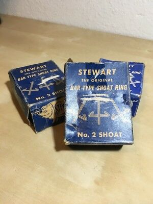 Vintage Stewart Hog Ring Co No. 2 Bar Type Shoat Ring Paris, Illinois
