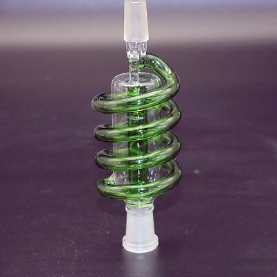 Glass Bong Ash Catchers Heavy Cyclone Perc coil (Joint 14mm) Water Tobacco Pipe